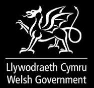Logo Llywodraeth Cymru gyda'r ddraig